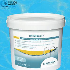 Bayrol pH-Minus Granulat 6kg ph - Senker Regulierung Pool Schwimmbad