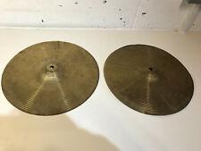"""Vintage 14"""" Hi Hat Cymbals Hi Hats"""