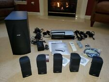 Bose Lifestyle AV28 Series IV 5.1 Channel Home Theater System - Black