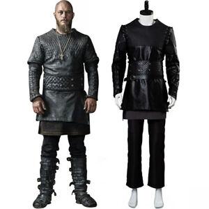 Vikings Ragnar Lothbrok Cosplay Kostüm Anzug Outfit Uniform