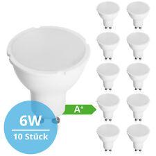 10x LED Lampe GU10 6W 120° Spot Strahler Leuchte 420 Lumen Neutralweiß SMD Birne