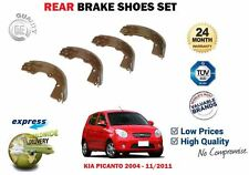 FOR KIA PICANTO 1.0 1.1 12V 2004-2011 NEW REAR HAND BRAKE SHOES SET