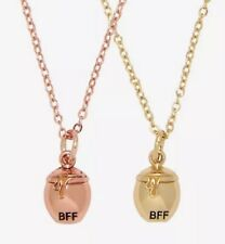 Disney Winnie The Pooh Honey Pot BFF Besties Pendent Necklace Set New With Tags!