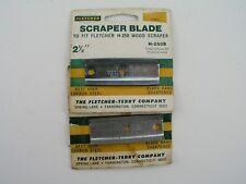 """2pcs Paint Scraper Blades 2-1/2"""" Fletcher H-250"""