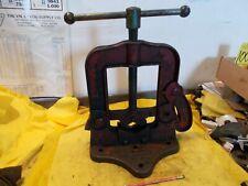 Vintage Trimo 44 Pipe Vise Plumber Welder Blacksmith Tool 18 To 6 Trimont Usa
