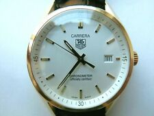 Tag Heuer Carrera 18k Gold Automatic Chronometer wv5141 Jack Heuer Special Edit
