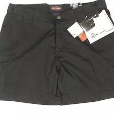 Tru-Spec Women's 24-7 Series Tru Black Size 14 /6 Cargo Tactical Uniform Shorts