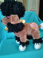 """Ganz French Poodle """"Groovy"""" Plush/11 x 11/Pre-Owned"""