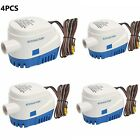 Automatic Submersible Boat Bilge Water Pump with Float Switch-12V 4PCS 1100GPH photo