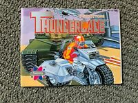 Thundercade ORIGINAL NES Nintendo Instruction Manual BOOK Only
