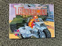Thundercade ORIGINAL NES Nintendo Instruction Manual BOOK Only