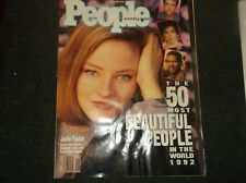 Vintage PEOPLE Magazine May4,1992/50 MOST BEAUTIFUL PEOPLE IN THE WORLD 1992