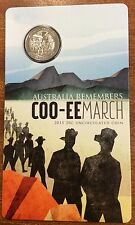 2015 RAM 20 cent uncirculated  coo-ee march