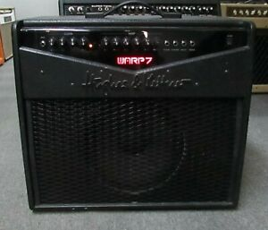 Hughes & Kettner Warp 7 Black Combo amp Made in Germany. Great Clean and Distort