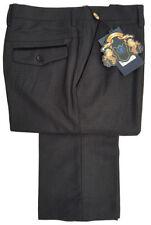 Pantalones de hombre grises delantero liso