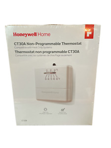 Honeywell Square Mechanical Non-Programmable Thermostat CT30a