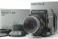 Rare!!【UNUSED in BOX】 Mamiya RB67 Pro-S + Sekor C 90mm f/3.8 From Japan 1138