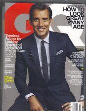 Clive Owen Gq Revista 10/14 Norman Reedus Blake Griffin Sellado