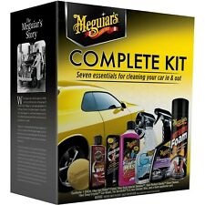 Meguiar's 7-piece Complete Car Care Kit Cleaning and Detailing G19900