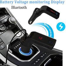 Car Kit Bluetooth Handsfree FM Transmitter Radio MP3 Player USB Charger &AUX Hot