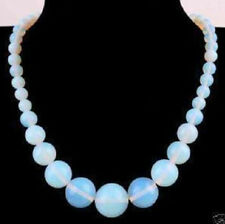 """wholesale 6-14mm natural Opal Round Gemstone Beads Necklace 18"""""""