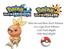 Pokemon Ultra Sun and Moon XY Torchic Event Pokemon