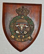 RNLAF 120 geleide wapen Sq Klu plaque shield Royal Netherlands Air Force Vörden