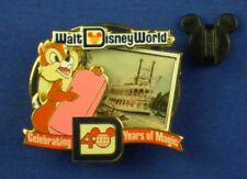 Chip Liberty Belle Riverboat LE WDW 40th Anniversary Magic Pin # 82215