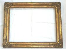 JOLI CADRE d'époque RESTAURATION, décors d'angle, feuille d'or, début du 19ème
