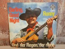 "RONNY Darling. Good Night / Und der Regen, der rinnt 7"" SINGLE Vinyl VG-"