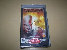 God of War: Chains of Olympus Platinum PSP **New & Sealed**