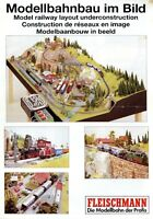 Fleischmann Prospekt 1993 Modellbahnbau im Bild brochure model railway broschyr