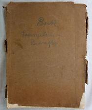 Emil Bock, Beiträge zum Verständnis des Evangeliums. 1927/28. 10 Lieferungen