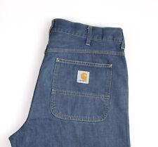 Carhartt Hommes Standard Pantalon Jeans Jambe Droite Taille W38 L32 APZ828