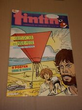 "MAGAZINE ""TINTIN, no 571"" (1986) CHICK BILL + POSTER"