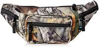 FANNY PACK Forest Camo Water Resistant Camouflage Waist Bag Tree Hunting Belt