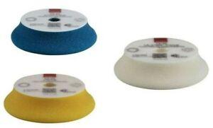 "Rupes ultra high performance d-a foam polishing pads 3"" 3pk"