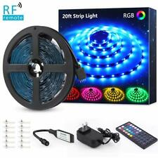 Rgb Wall Light Room Led Strip 5050 Color Changing Dimmable Home Kitchen Bar
