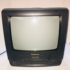 "Panasonic TV VCR Combo PV-C1320 13"" CRT Television  VCR Needs Work No Remote"