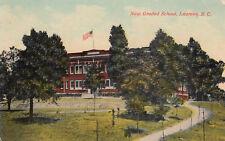 LAURENS, South Carolina, PU-1912; New Graded School, version 3