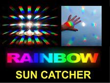 STAR BURST SUN CATCHER /MULTIPLE RAINBOW MAKER,METAPHYSICAL NEW AGE FENG SHUI