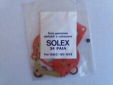SOLEX 34 PAIA Carburetor gasket kit, for FIAT 1500 C - 125 - 125 S