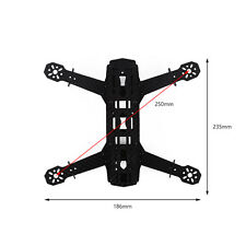 For QAV250 3K Full Carbon Fiber ZMR250 Mini FPV Racing Quadcopter Frame RC Part