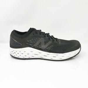 New Balance Mens Fresh Foam Vongo V4 MVNGOBK4 Black Running Shoes Size 8 D