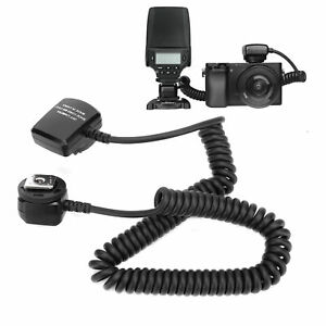 Meike Camera TTL Flash Sync Cable Cord for Sony Camera &Flashlight Durable Black