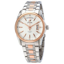 Enicar Silver Dial Automatic Mens Two Tone Watch 3169/50/336GS