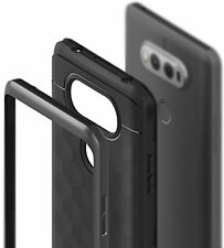 LG V20 Case, Caseology [Parallax Series] Modern Slim Geometric Design [Black]