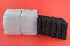 52 POLI FILO INTERDENTALE & 12 Filtro di carbonio Pads per adattarsi Juwel Compact Bioflow 3.0 M Media