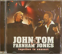 JOHN FARNHAM & TOM JONES - TOGETHER IN CONCERT CD - VERY GOOD CONDITION