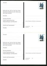 BRD Postfach Mitteilung PFK 3 Paar zusamenhängend ungebraucht